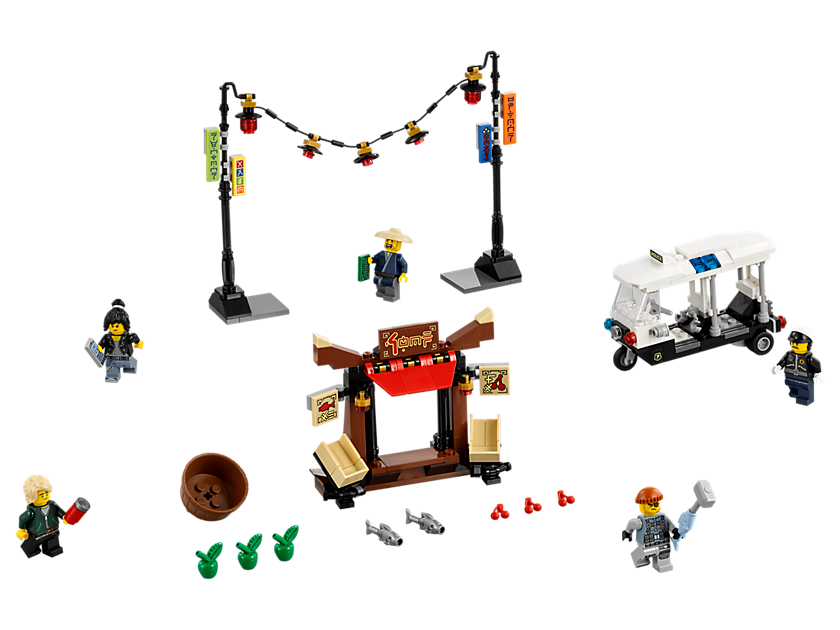 NINJAGO City Chase 6136302