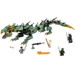 Green Ninja Mech Dragon