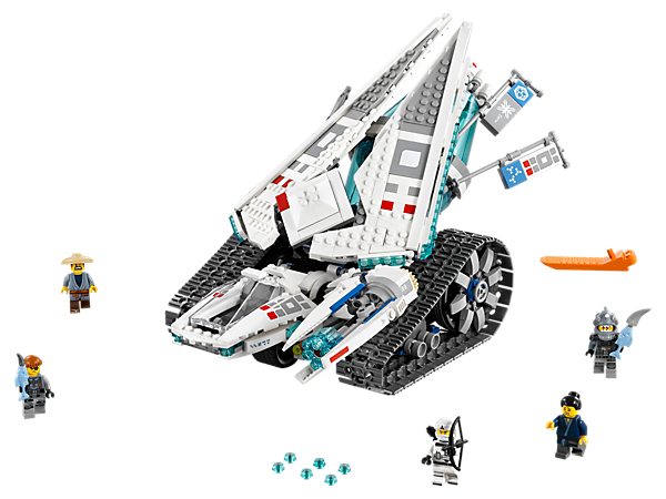 Ice Tank - 70616 | THE LEGO® NINJAGO® MOVIE™ | LEGO Shop