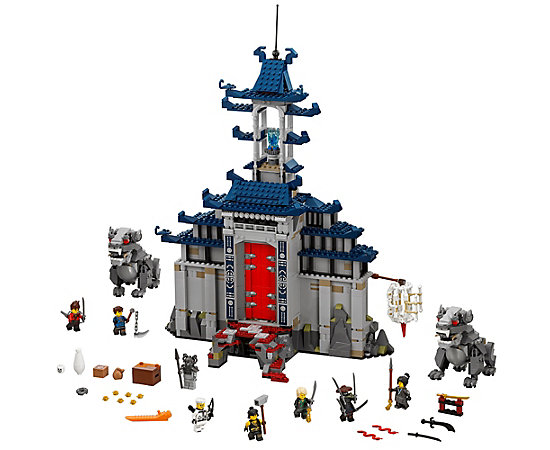Temple Of The Ultimate Ultimate Weapon 70617 The Lego Ninjago