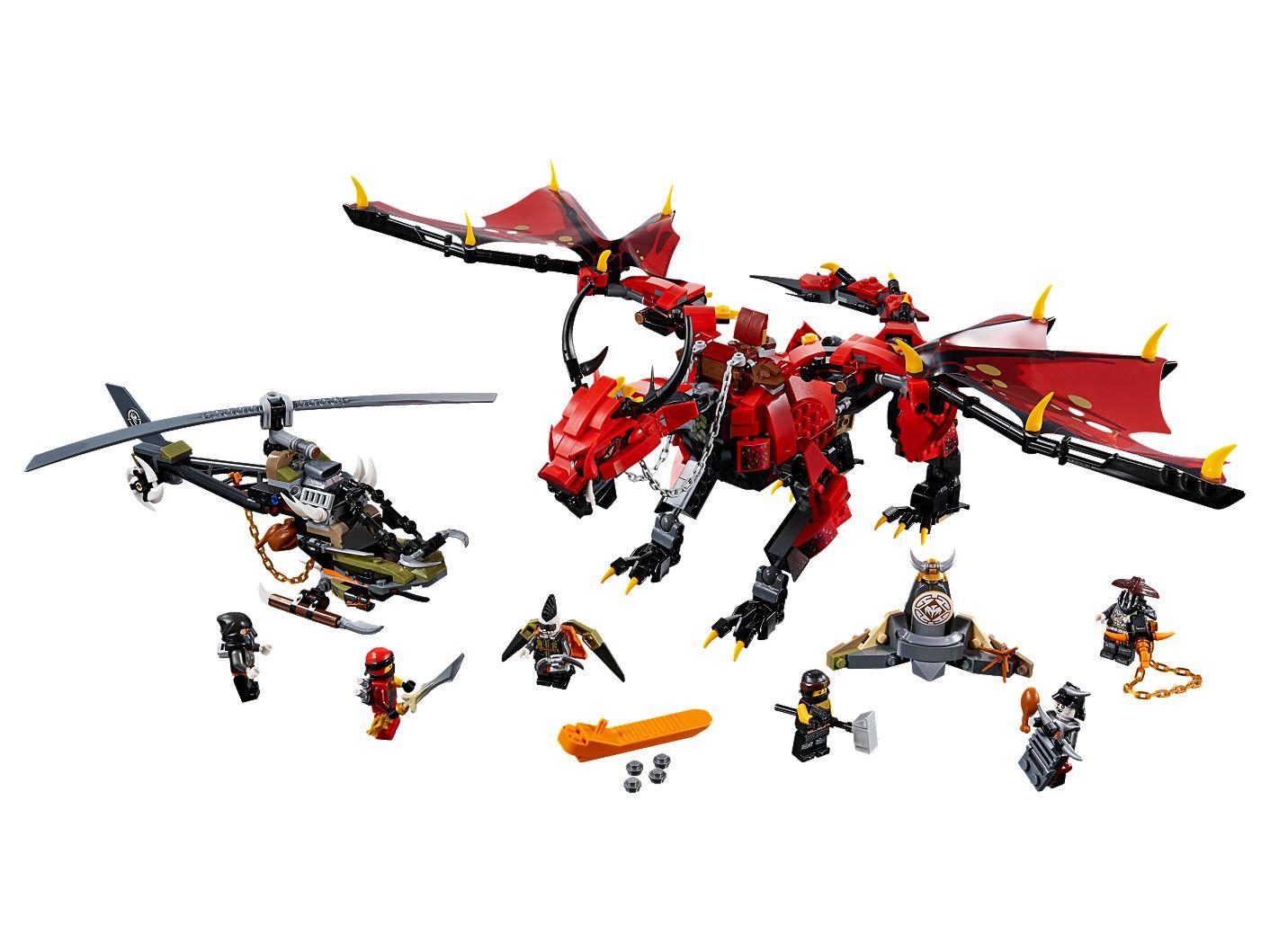Mutter Der Drachen 70653 Ninjago Offiziellen Lego Shop De