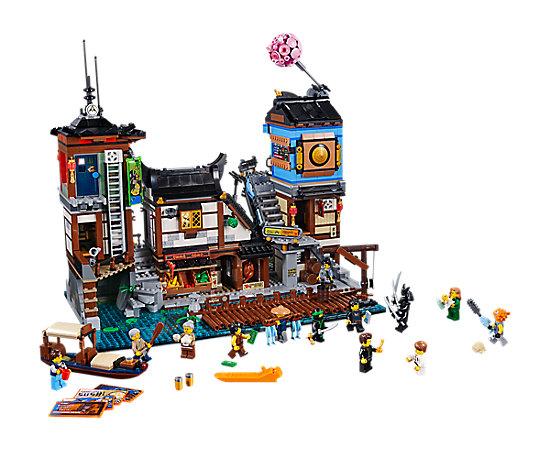NINJAGO® City Docks - 70657 | THE LEGO® NINJAGO® MOVIE™ | LEGO Shop