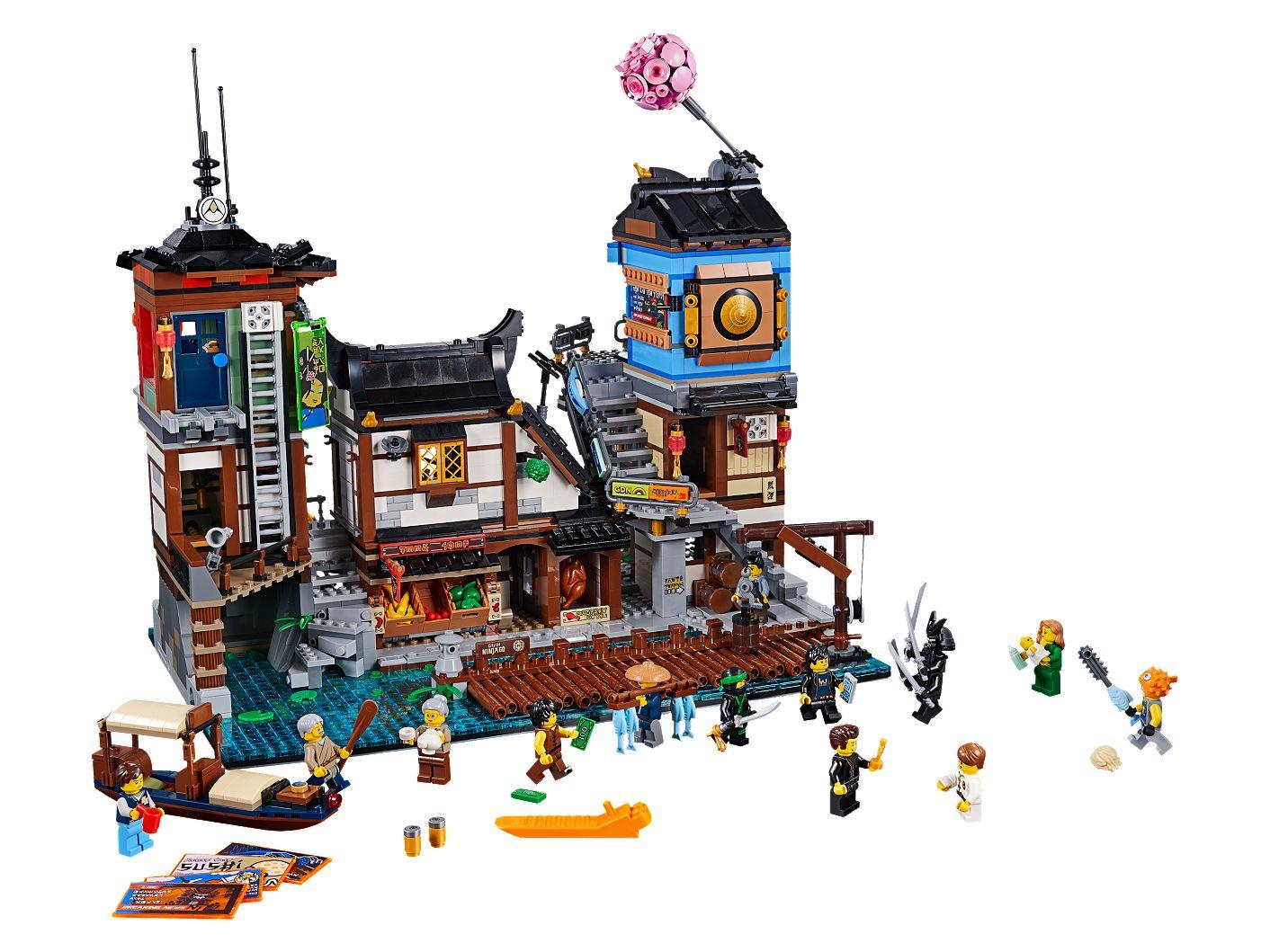 Ninjago City Docks 70657 Ninjago Lego Shop