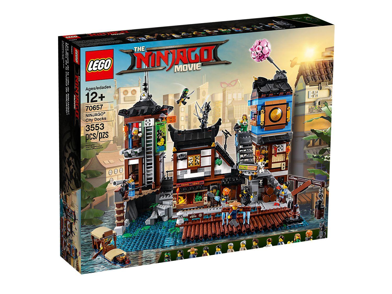 Ninjago City Docks