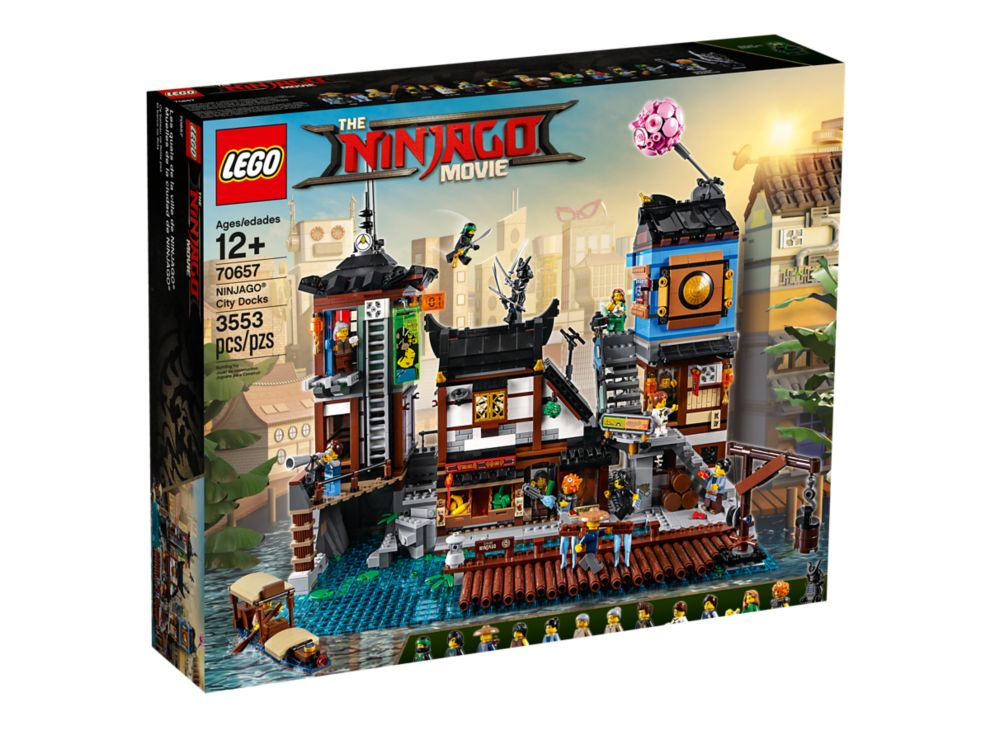 Doki W Mieście Ninjago 70657 Ninjago Lego Shop