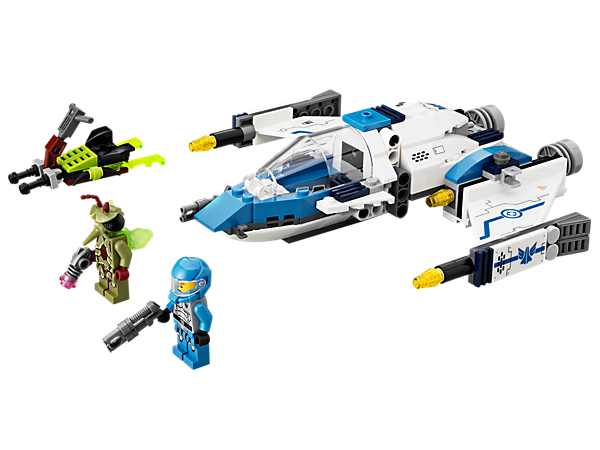 Split Solomon Blaze's Swarm Interceptor ship into a flyer with opening cockpit and a turret with hidden flick missiles!