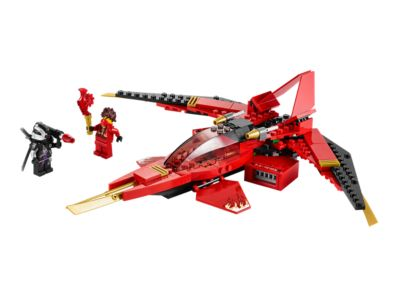 Put the heat on General Cryptor and grab the Techno-Blade with Kai Fighter with 2 flick missiles, jet engines and speed mode wings!