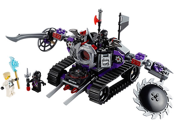 Explore product details and fan reviews for buildable toy Destructoid 70726 from Ninjago. Buy today with The Official LEGO® Shop Guarantee.