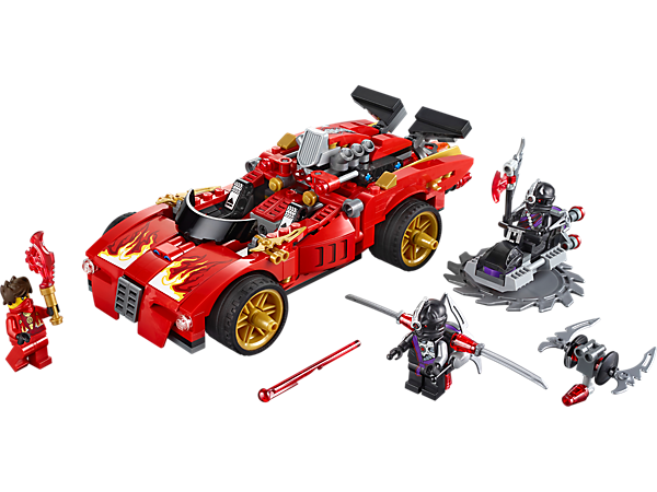 Explore product details and fan reviews for buildable toy X-1 Ninja Charger 70727 from Ninjago. Buy today with The Official LEGO® Shop Guarantee.