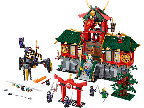 battle for ninjago city lego shop