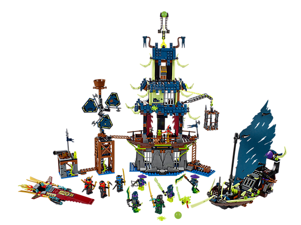 Explore product details and fan reviews for City of Stiix 70732 from Ninjago. Buy today with The Official LEGO® Shop Guarantee.