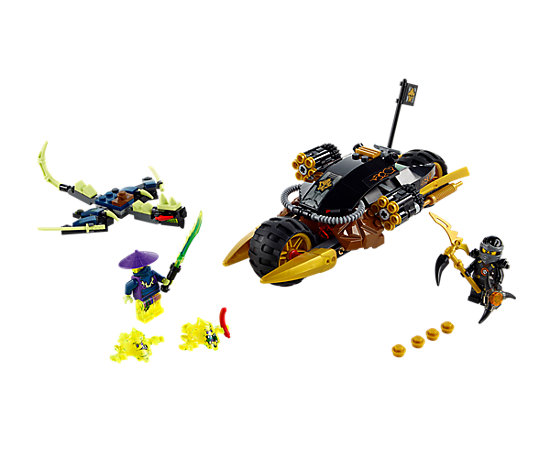 Ninjago: Masters of Spinjitzu is an animated television series produced by Wil Film ApS and The Lego Group and distributed by The Lego Group for Cartoon Network.