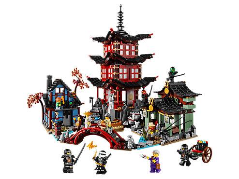 le temple de lairjitzu 70751 ninjago lego shop - Lego Ninjago Nouvelle Saison