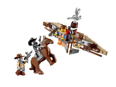Explore product details and fan reviews for buildable toy Getaway Glider 70800 from THE LEGO® MOVIE. Buy today with The Official LEGO® Shop Guarantee.