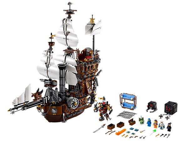 Explore product details and fan reviews for buildable toy MetalBeard-s Sea Cow 70810 from D2C Exclusive-LEGO Movie. Buy today with The Official LEGO® Shop Guarantee.