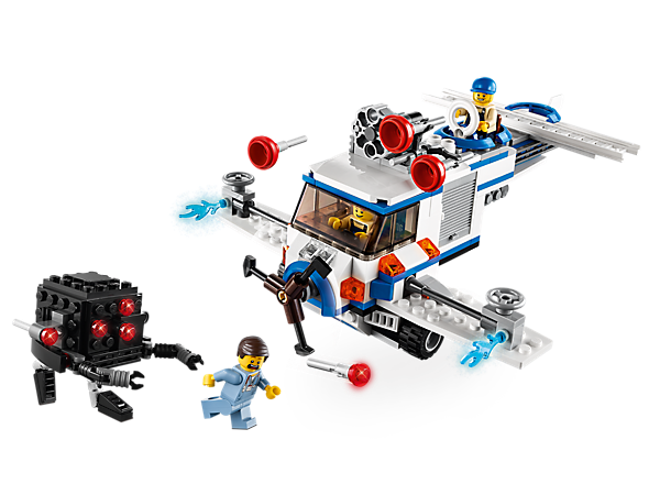 Explore product details and fan reviews for buildable toy The Flying Flusher 70811 from THE LEGO® MOVIE. Buy today with The Official LEGO® Shop Guarantee.