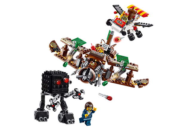 Explore product details and fan reviews for buildable toy Creative Ambush 70812 from THE LEGO® MOVIE. Buy today with The Official LEGO® Shop Guarantee.