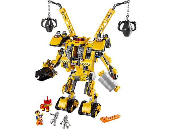 Explore product details and fan reviews for buildable toy Emmet's Construct-o-Mech 70814 from LEGO Movie. Buy today with The Official LEGO® Shop Guarantee.