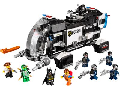 Explore product details and fan reviews for buildable toy Super Secret Police Dropship 70815 from LEGO Movie. Buy today with The Official LEGO® Shop Guarantee.