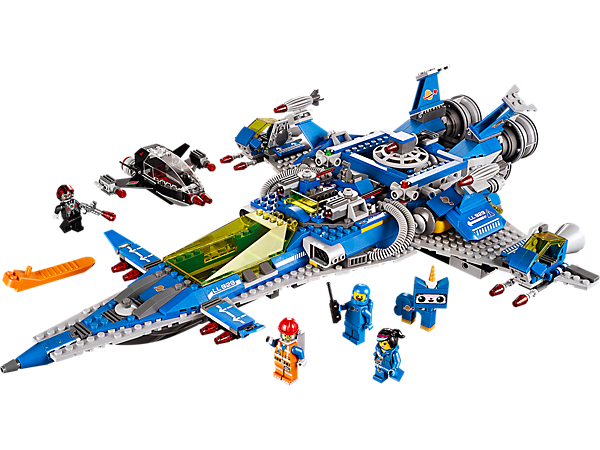 Explore product details and fan reviews for buildable toy Benny's Spaceship, Spaceship, SPACESHIP! 70816 from LEGO Movie. Buy today with The Official LEGO® Shop Guarantee.