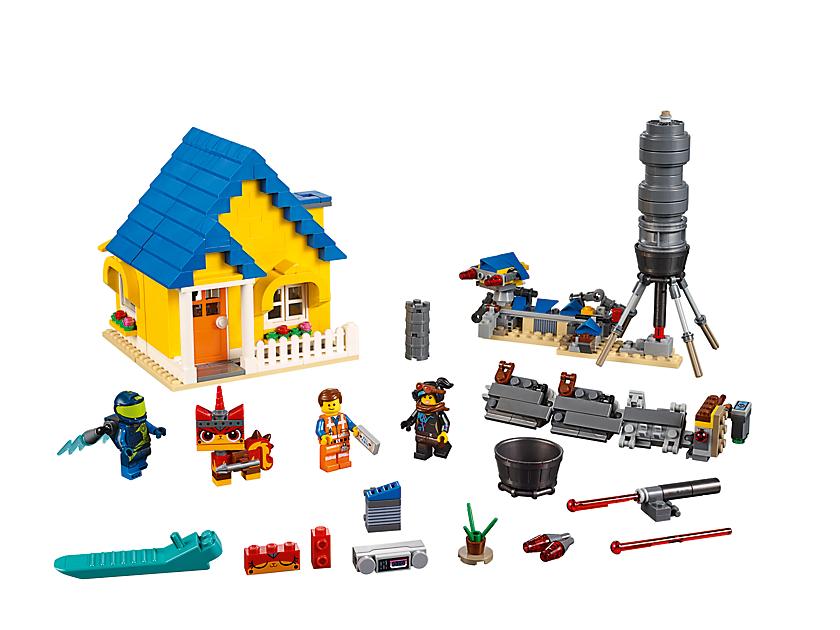 Emmet's Dream House/Rescue Rocket!