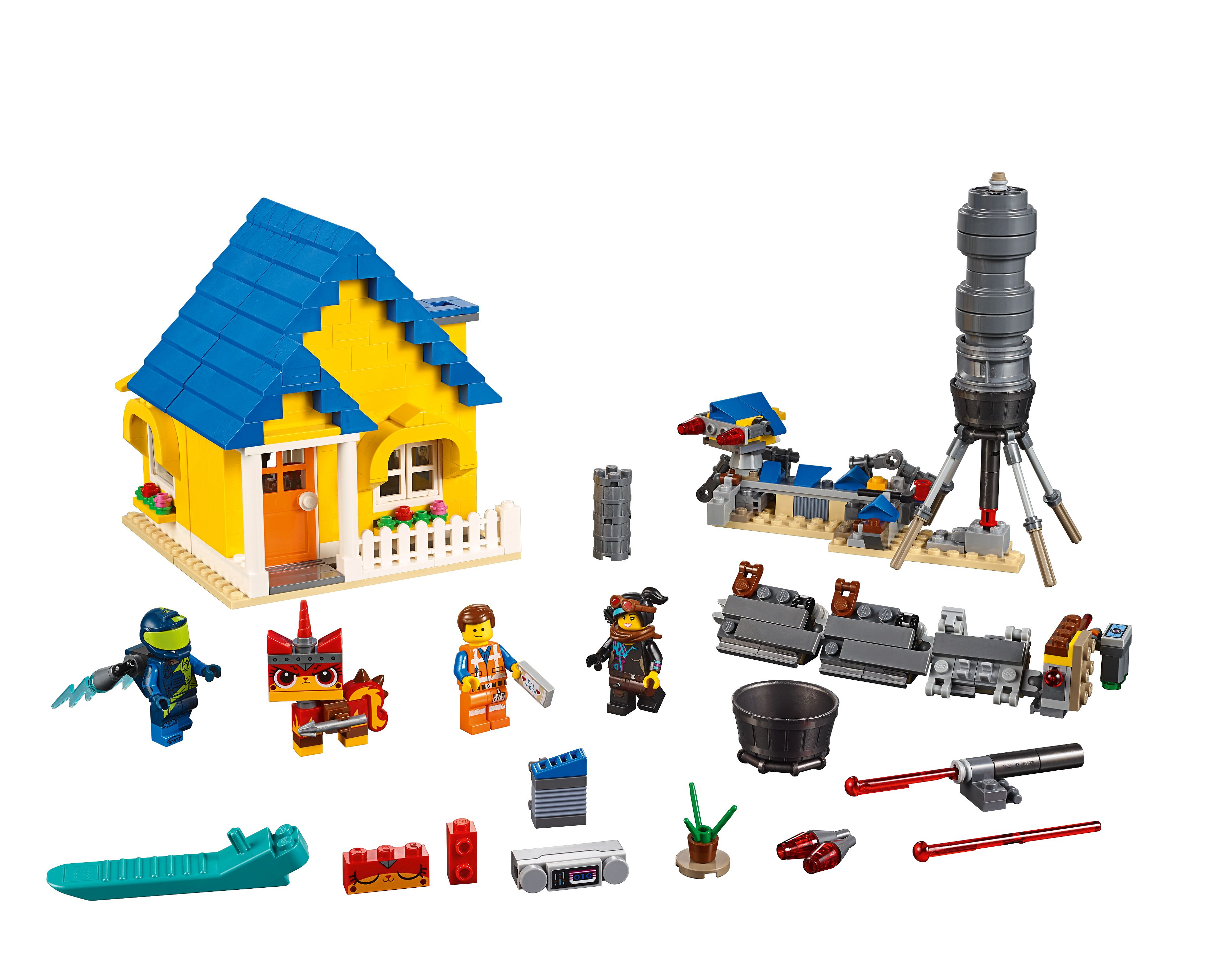 Emmet's Dream House/Rescue Rocket! 70831 | THE LEGO® MOVIE 2™ | on