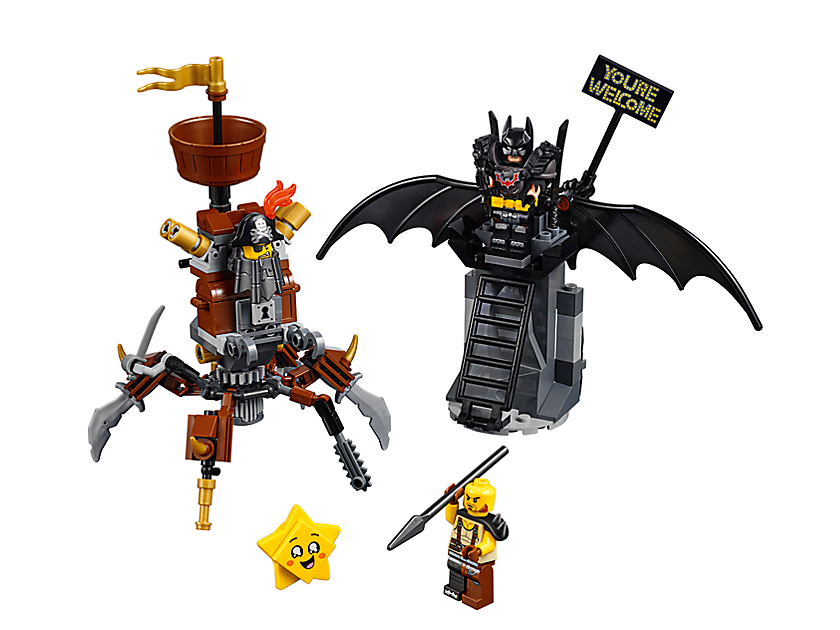Battle Ready Batman And MetalBeard
