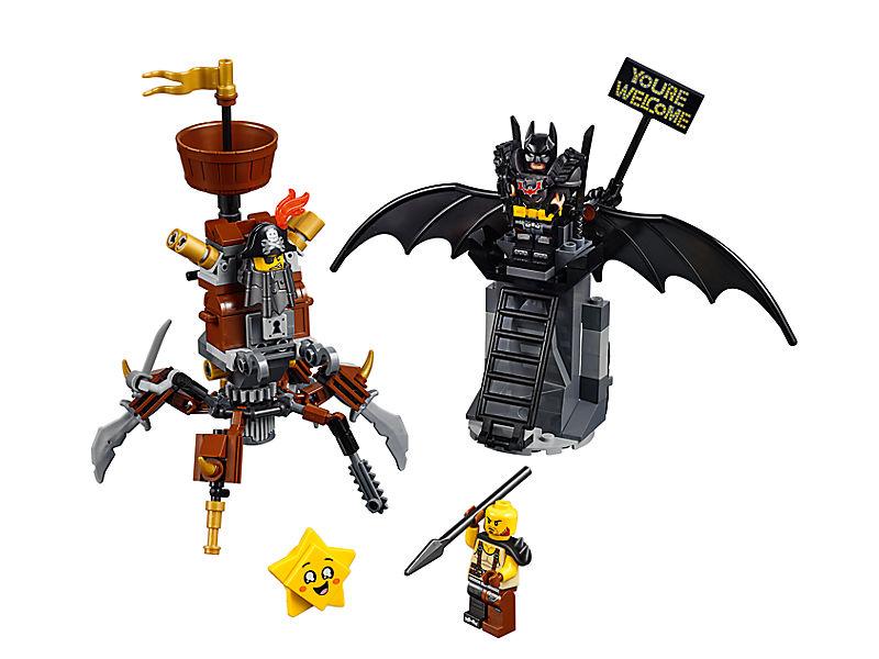 Batman™ y Barbagris Preparados para Luchar