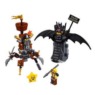 Battle-Ready Batman™ and MetalBeard
