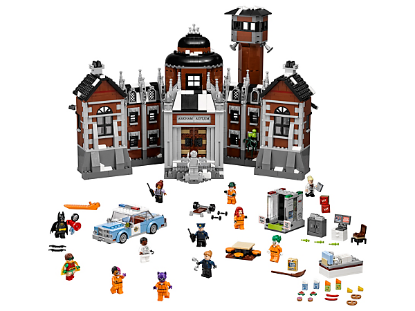 arkham asylum 70912 the lego batman movie lego shop. Black Bedroom Furniture Sets. Home Design Ideas