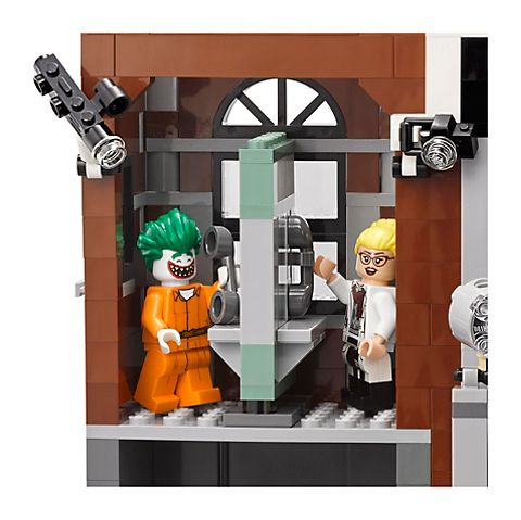 Arkham Asylum Lego Aaron Cash Minifigure BRAND NEW Batman Movie 70912