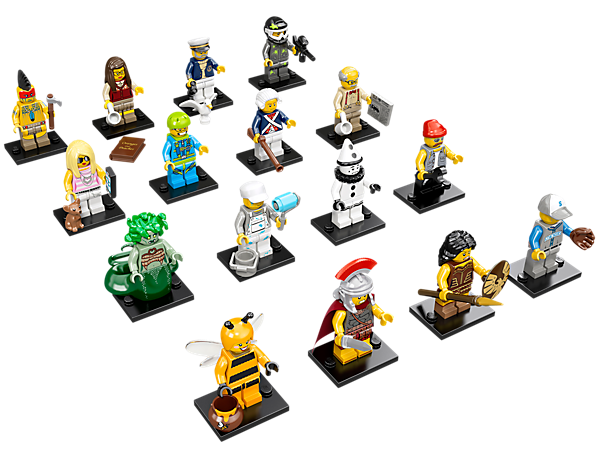 Get your hands on the exciting Series 10 minifigure mystery bags featuring 16 all-new characters and accessories to trade and collect!!