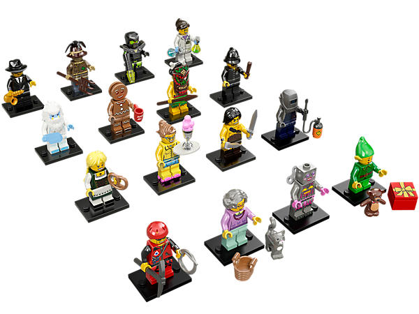 Get your hands on the exciting Series 11 minifigure mystery bags featuring 16 all-new characters and accessories to trade and collect!