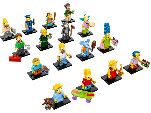 Explore product details and fan reviews for buildable toy LEGO® Minifigures - The Simpsons™ Series 71005 from Minifigures. Buy today with The Official LEGO® Shop Guarantee.