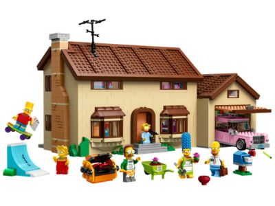 Explore product details and fan reviews for buildable toy The Simpsons™ House 71006 from D2C Exclusive-Simpsons. Buy today with The Official LEGO® Shop Guarantee.