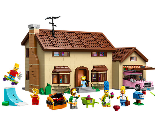 Das Simpsons Haus 71006 The LEGO Shop