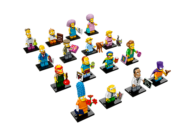 <p>Grab LEGO® Minifigures, The Simpsons™ Series 2 mystery bags featuring 16 unique minifigures with accessories to trade and collect!</p>