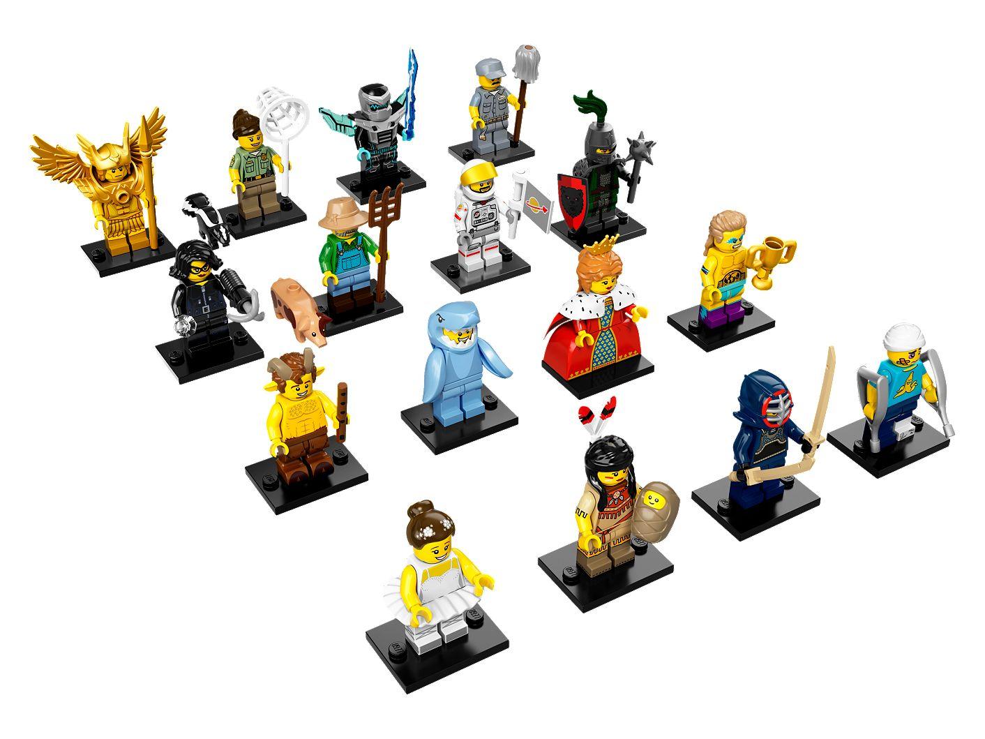 12 Kendo Fighter Baukästen & Konstruktionsspielzeug Lego Minifigure Series 15-71011