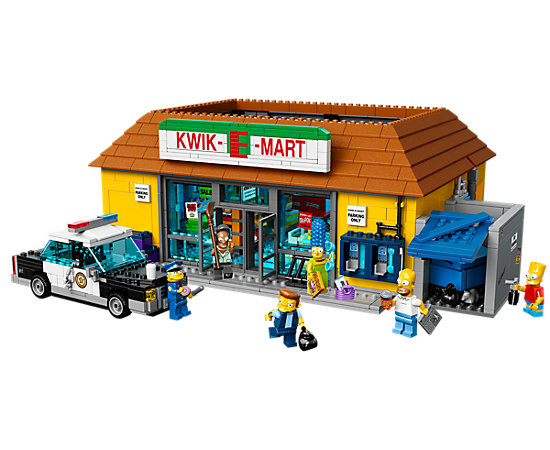 The Kwik E Mart 71016 Simpsons LEGO Shop
