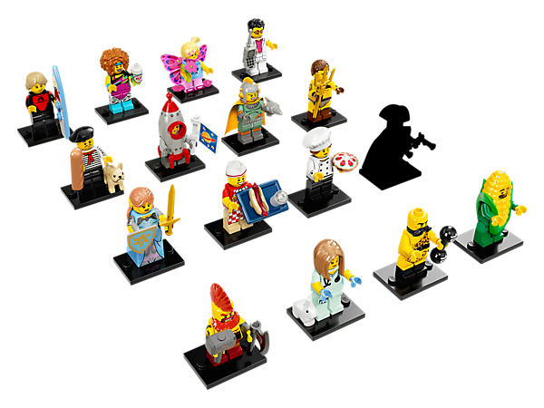 <p>Enjoy brand new LEGO® adventures with the LEGO Minifigures Series 17 collection, featuring fifteen all new characters, plus a mystery character! Be surprised… there's a story in every bag!</p>