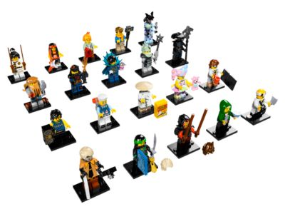 THE LEGO® NINJAGO® MOVIE™ - 71019 | Minifigures | LEGO Shop