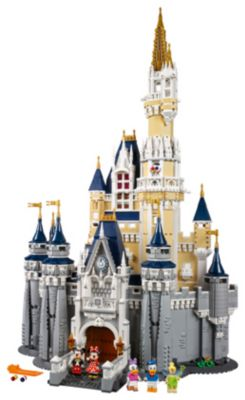 LEGO The Disney Castle 4,000 Piece Set Back In Stock!