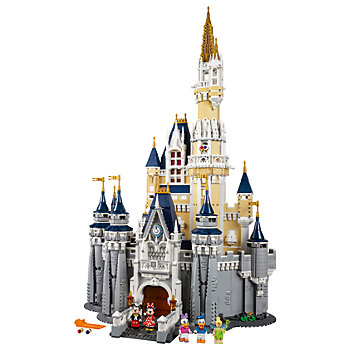 Lego Disney Castle Building Block Set