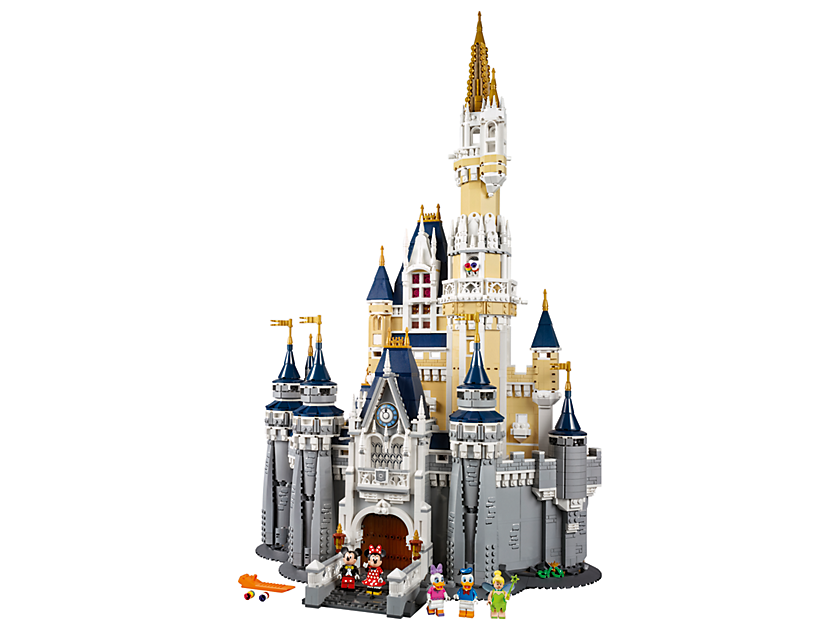 Geeky Mother's Day Gifts: LEGO Disney Castle