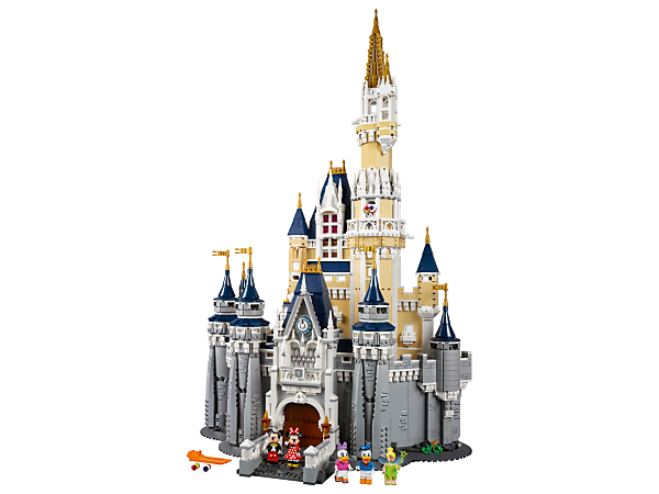 <p>Explore this magical LEGO® replica of the iconic Walt Disney World® Resort, featuring a highly detailed facade, an array of Disney-themed rooms and 5 Disney minifigures.</p>