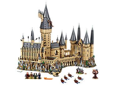 Resultat d'imatges de castillo hogwarts lego