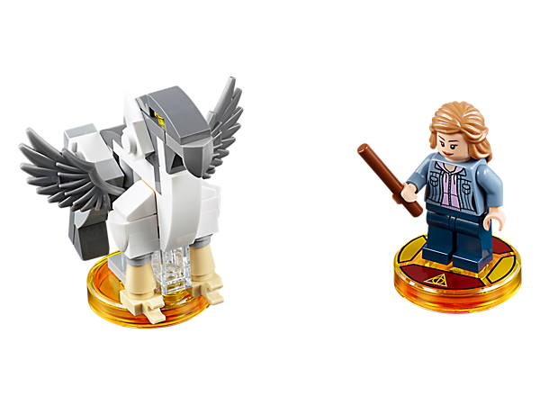 <p>Continue your wizarding adventures in LEGO® DIMENSIONS™ with the Hermione Granger in the Harry Potter™ Fun Pack, featuring Hermione, 3-in-1 Buckbeak vehicle, and Harry Potter™ Adventure World with a Battle Arena!</p>