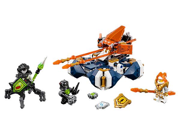 Bereite der Techno-Infektion ein Ende – mit Lances schwebendem Cruiser, der mit 2 Lanzen und Raketen ausgestattet ist. Enthält 2 Minifiguren und 3 Schilde zum Scannen!