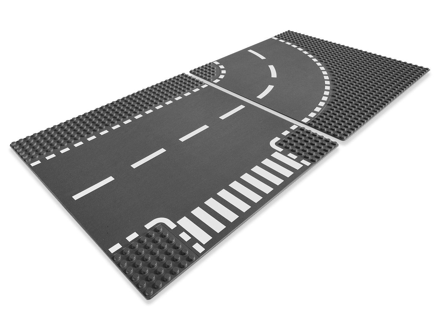 Plaques de route - Intersection et Virage