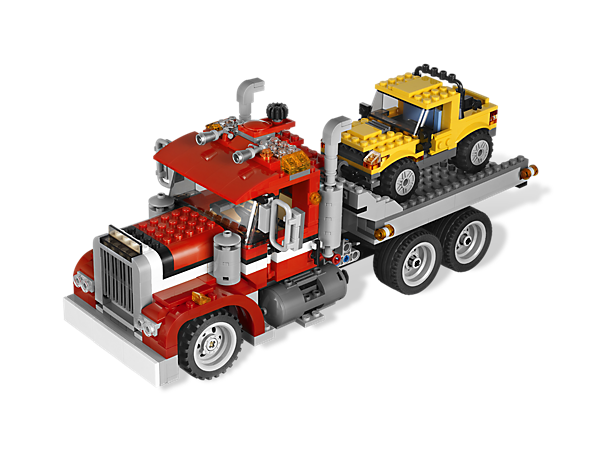 Rescue everyone on the road with this realistic 3-in-1 marvel, packed with heavy-duty details and functions including 2 LEGO® light bricks!